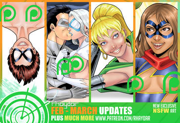 Patreon February - March Preview by rhaydar