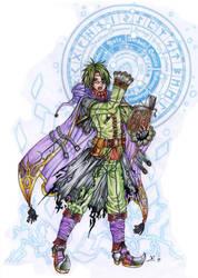 Lightning Sorcerer by Pig-WarriOr