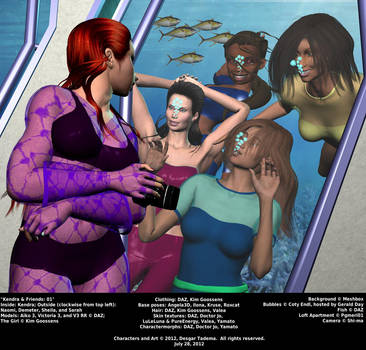 Kendra and Friends 01 by Desgar