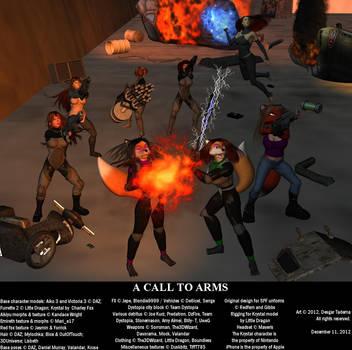 A Call to Arms by Desgar
