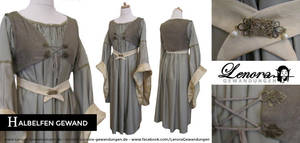 Halfelven Dress 2013 by LenoraGewandungen