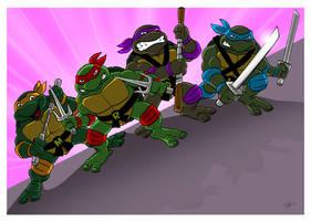 Classic Teenage Mutant Ninja Turtles. by scootah91