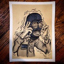 Self portrait by fac3