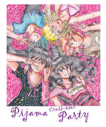 CE: Pijama Crossover Party by Happy-every-day