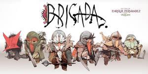 BRIGADA front by EnriqueFernandez