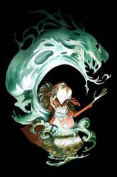 Aurore Back Cover by EnriqueFernandez