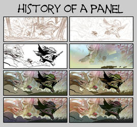 HISTORY OF A PANEL by EnriqueFernandez