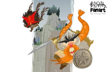 Wencys Lao fan art by EnriqueFernandez