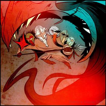 Benjatoon fan art by EnriqueFernandez