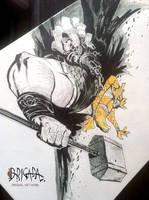 Brigada Original Artwork  08 by EnriqueFernandez