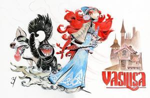 Vasilisa by EnriqueFernandez