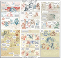 Brigada #2 Rough pages (wip) by EnriqueFernandez