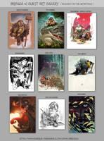 Brigada#2 artbook guest gallery by EnriqueFernandez