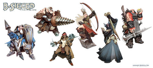 Heroes by EnriqueFernandez