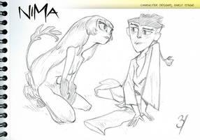NIMA- First designs by EnriqueFernandez