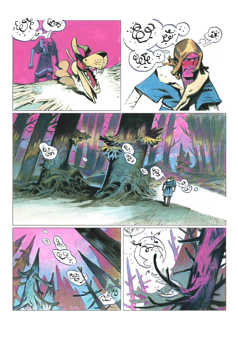 NIMA (preview pages 02) by EnriqueFernandez
