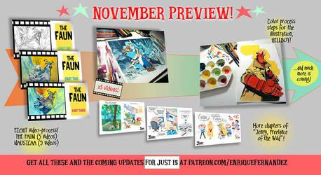 November preview! by EnriqueFernandez