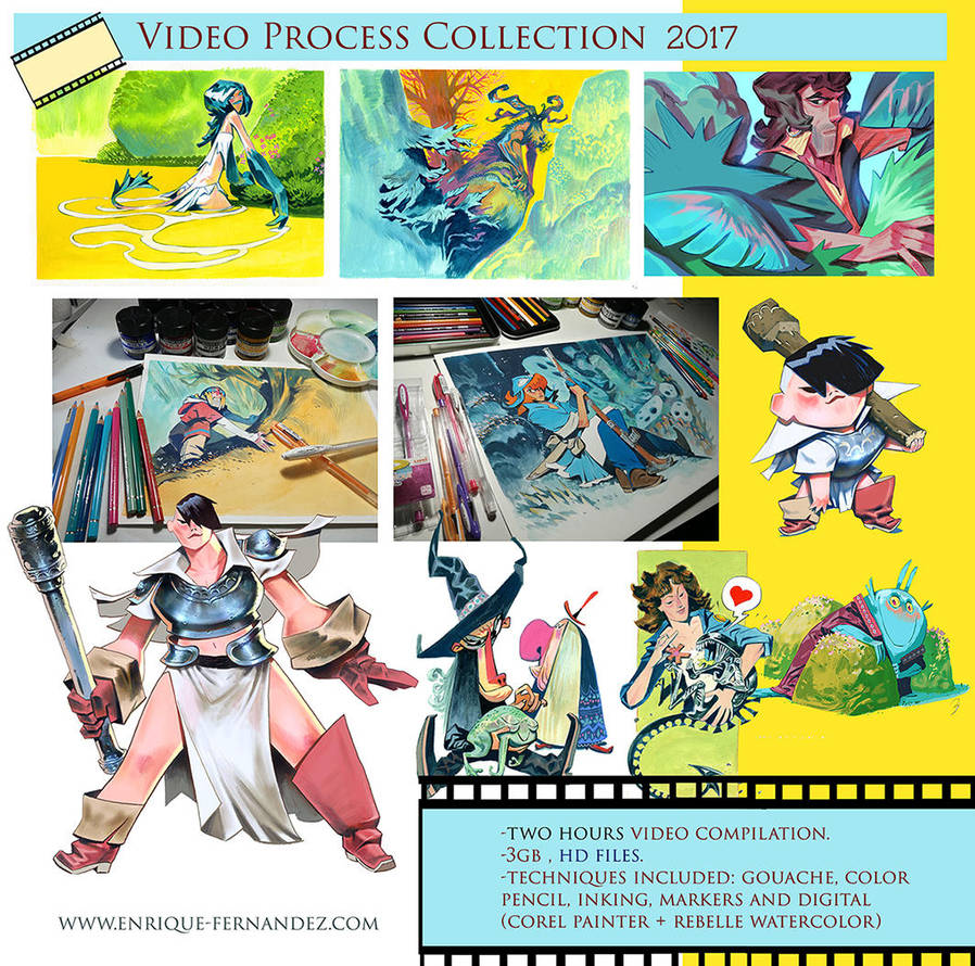 Video Process collection 2017 by EnriqueFernandez