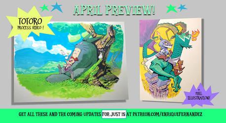 April preview! by EnriqueFernandez