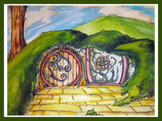 Hobbit Hole by knight-of-rosubia