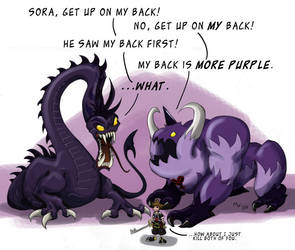 Sora's Got Back by LynxGriffin