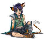 Random Anime Character by LynxGriffin
