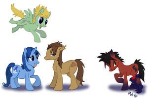 My Little BBS Ponies by LynxGriffin