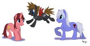 My Little KH2 Ponies by LynxGriffin