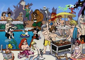 Kingdom Barbecue by LynxGriffin