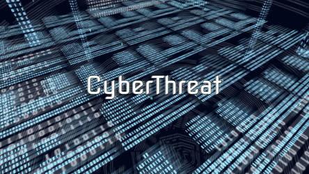 CyberThreat - Logo Wallpaper by KonoRBeatz