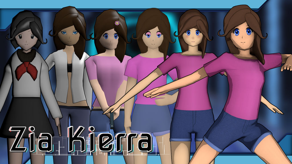 CyberThreat - Zia Kierra Progress by KonoRBeatz
