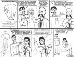 Presidente Comics: Instant New Identity by Oddsquad