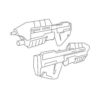 Halo Assault Rifles By Lewi Apple On Deviantart