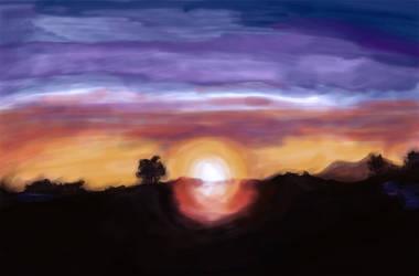 sunrise by CryptRose