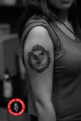 Owl tattoo bayku dovmesi by mertkanongun