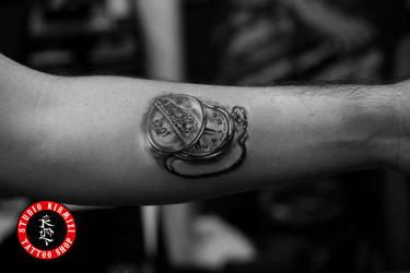 Watch Tattoo Dovme Kostekli Saat by mertkanongun