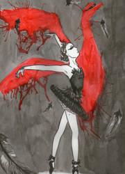 Black Swan by Kitty-Punk