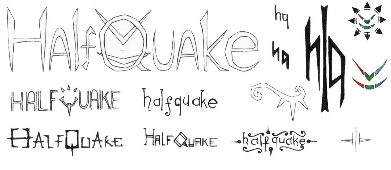Trilogy Logo Sketches by Djigallag