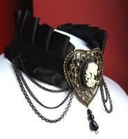 Steampunk Necklace by Pinkabsinthe