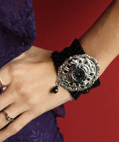 Filigree Ruffle watches by Pinkabsinthe