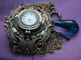 Steampunk Watches Winter by Pinkabsinthe
