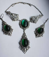 Russian Queen's  jewelry set by Pinkabsinthe