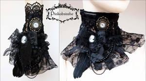 Gothic jabot cuff transformer I by Pinkabsinthe