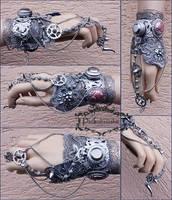 Predator claw wrist cuff by Pinkabsinthe