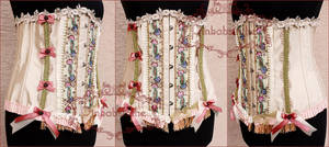 Boho rococo corsage by Pinkabsinthe