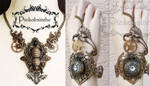 Beautiful set watch and necklace by Pinkabsinthe
