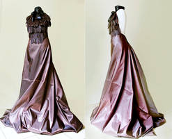Steampunk dress by Pinkabsinthe