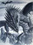 Dark dragon by crazyxav