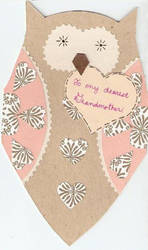 Grandma's mothers day card by stillworkingonit