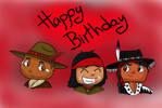 Happy Birthday, Kimosabe by Horselandiceage